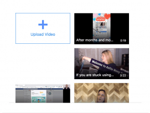 video selection