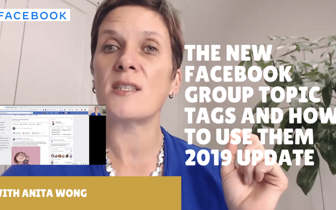 How to add topic tags to your Facebook group