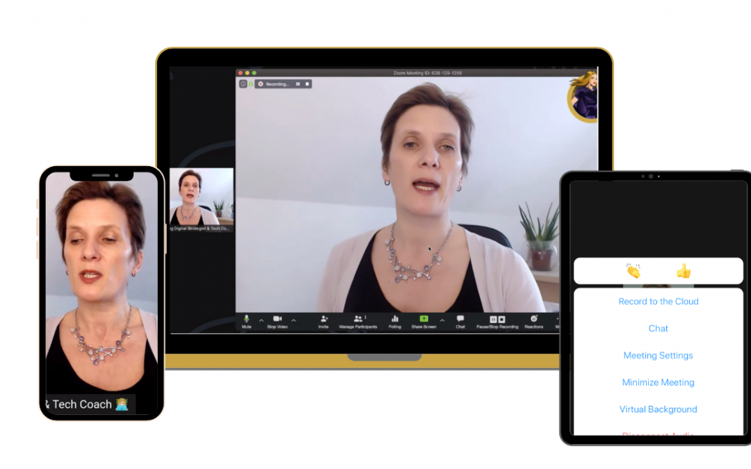 How to use Zoom to host an online conference call for your Business.