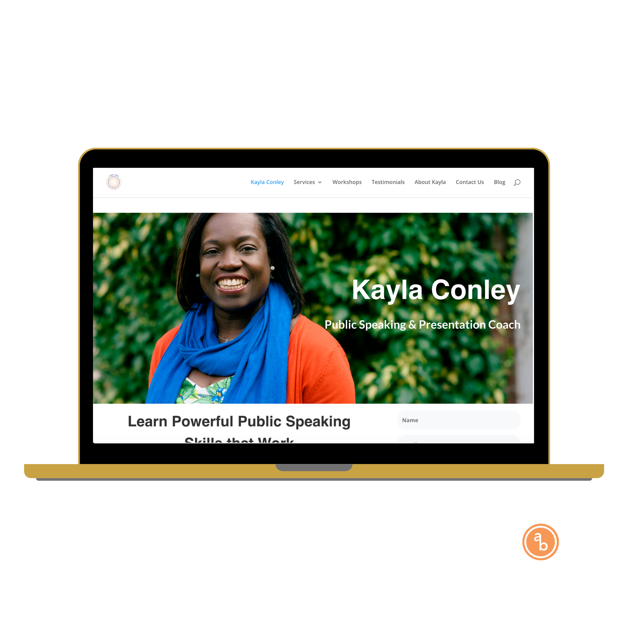 kayla conley web design