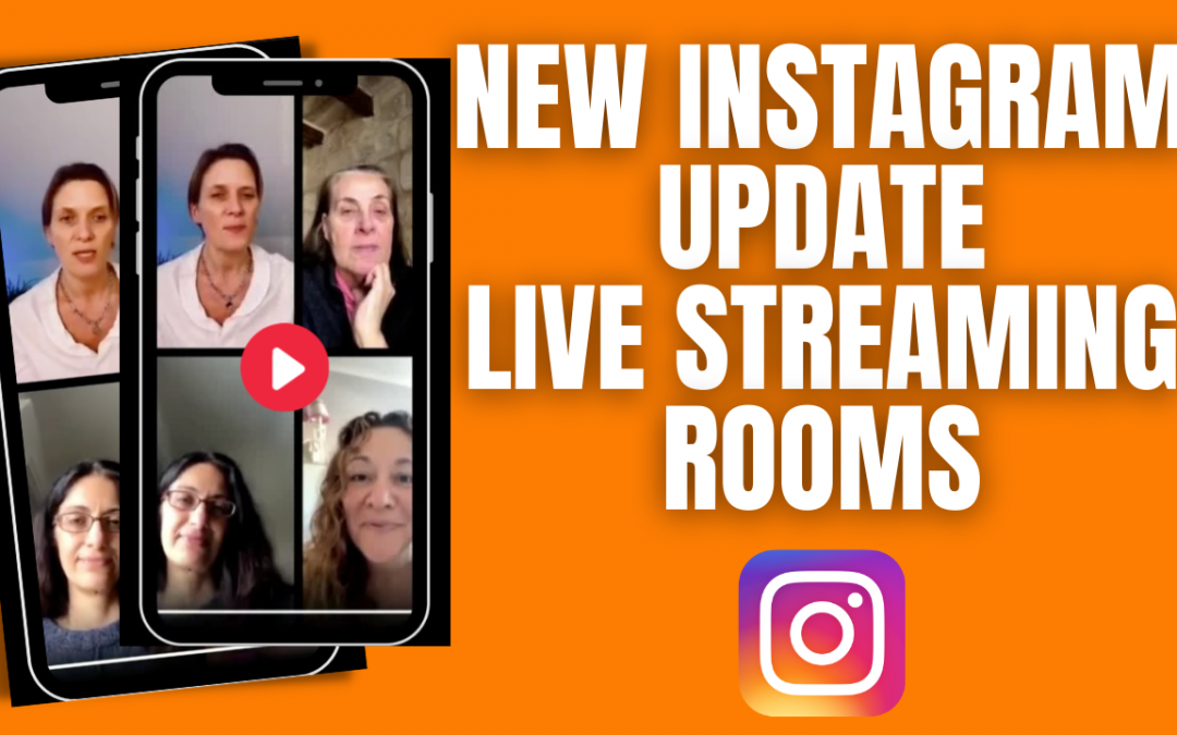 Live on Instagram with 4 people – Instagram Rooms