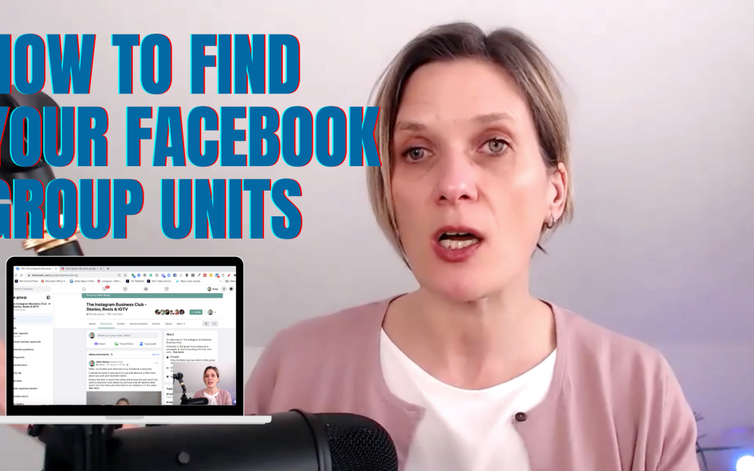 Facebook Group 'Units' now called 'Guides'